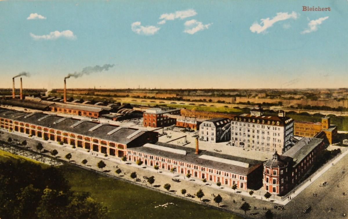 Bleichert & Co. Fabrik Leipzig Gohlis (1910)