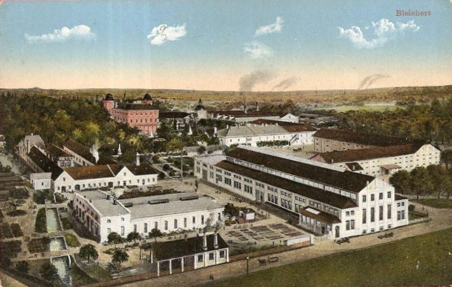 Hinterschweiger Bleichert Fabrik Lichtenegg (Ober-Österreich)