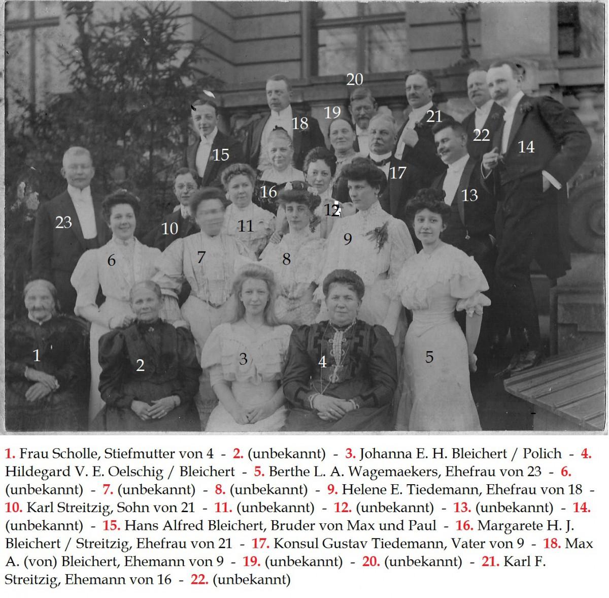 1910 Villa Hilda Aussentreppen-Terrasse
