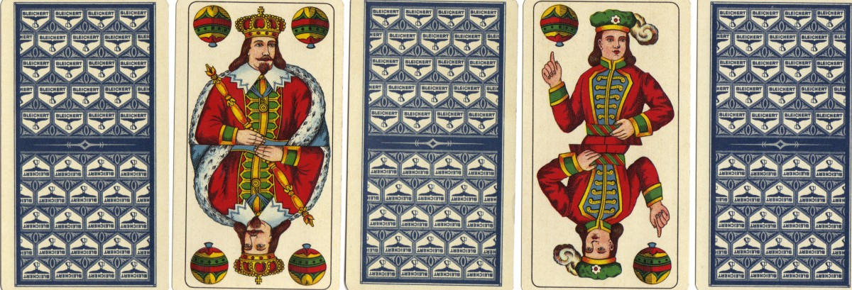 'Altenburger'Skat Playing cards