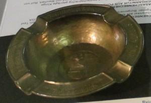 Bleichert Aschenbecher (Bronze)