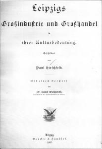 Leipzig Grossindustrie u. Grosshandel (1887)