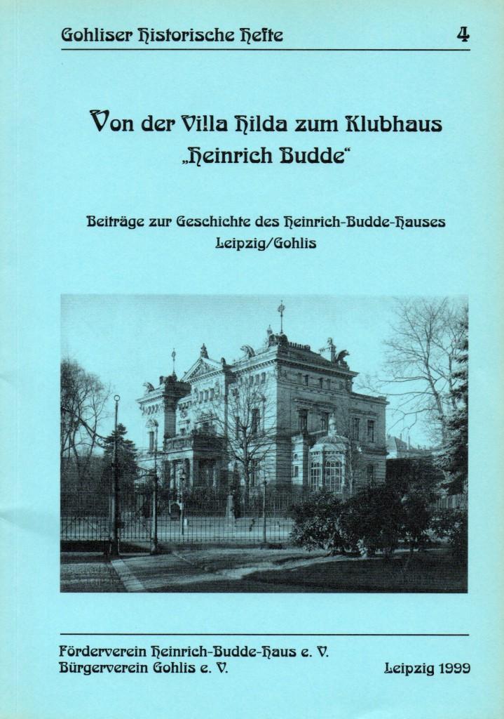 Villa Hilda - Klubhaus Heinrich Budde