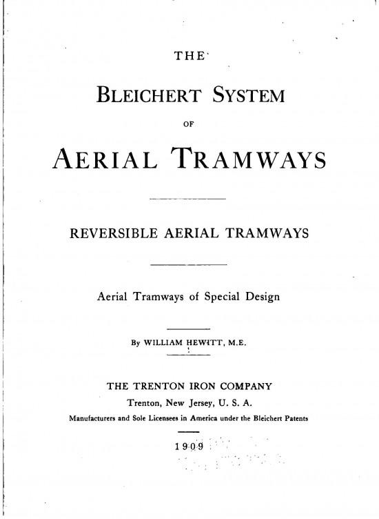 W. Hewitt Bleichert System 05
