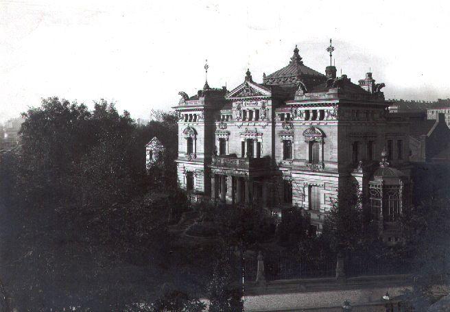 Adolf Bleichert Villa, Leipzig 1