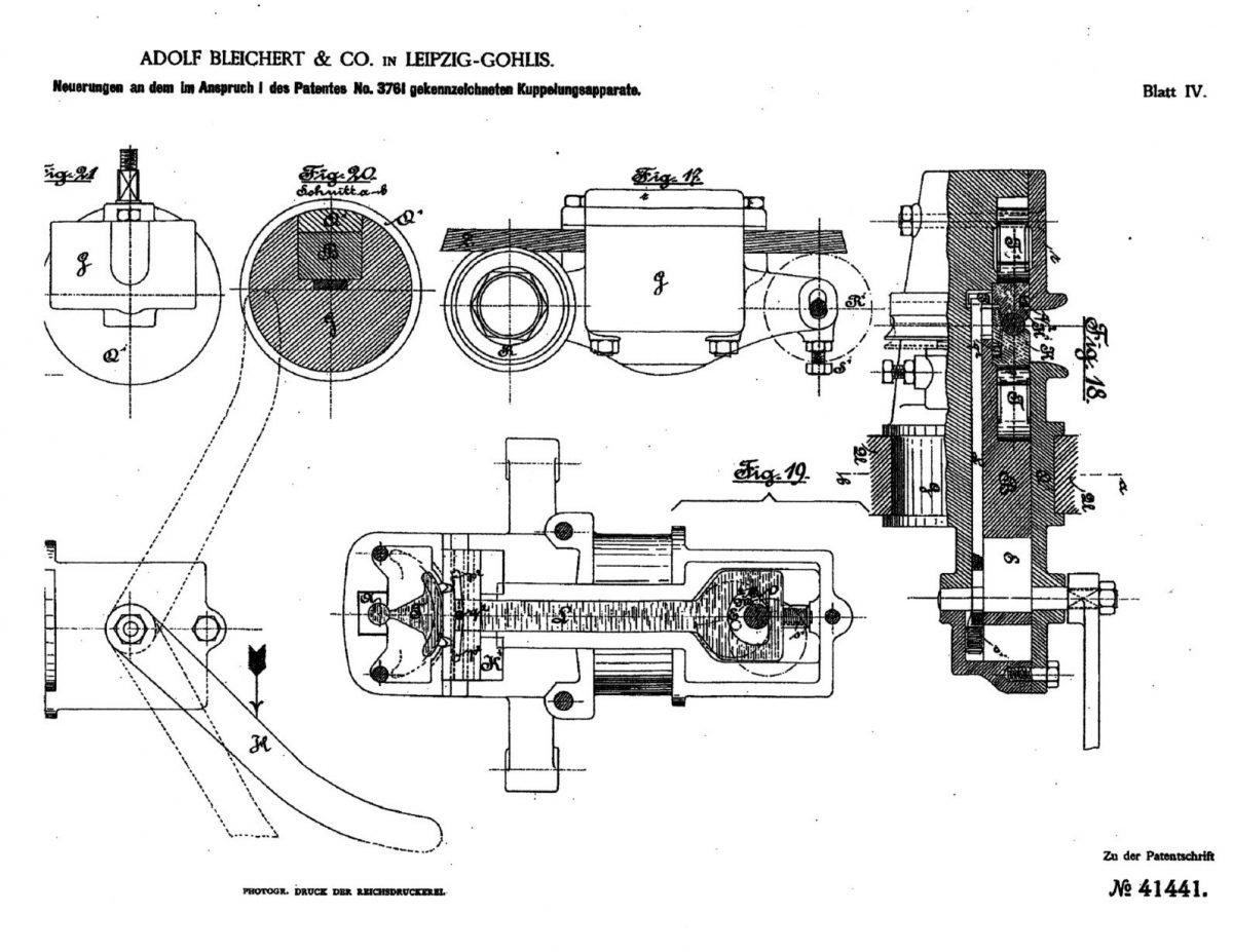 Bleichert Patent N.41441 (2)