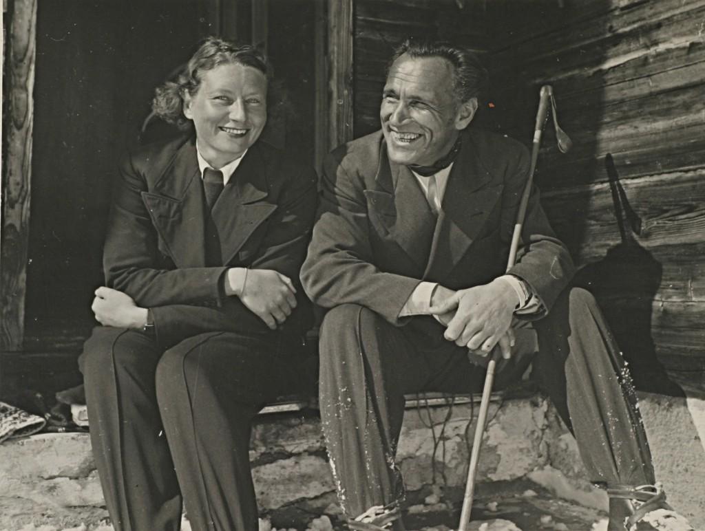 Hilda v.B-Trenker & Luis Trenker