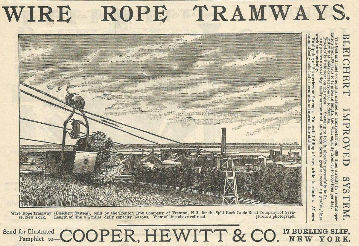 1892 Cooper Hewitt Ad - Copia