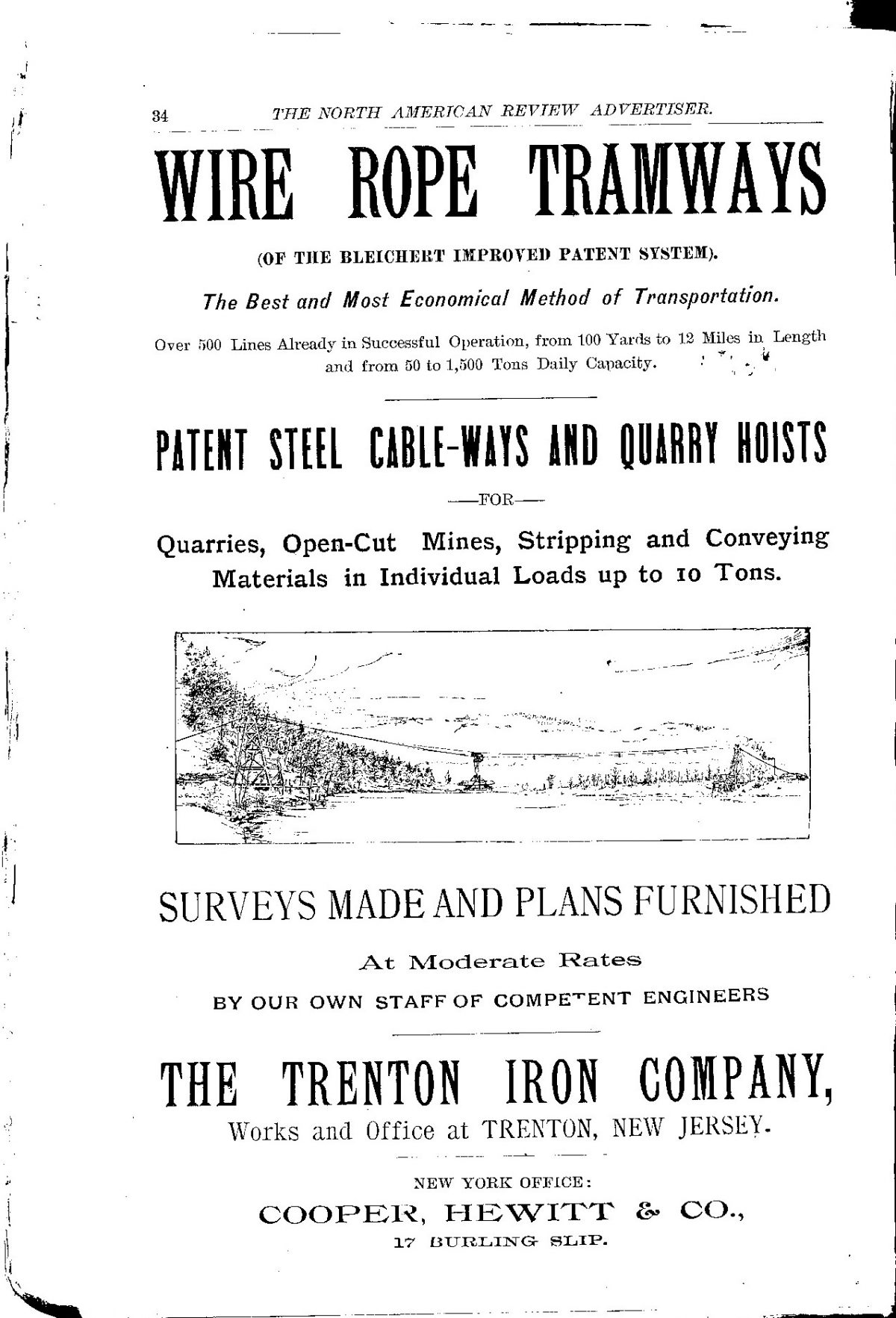 Trenton Iron / American Wire & Steel / U.S. Steel - Bleichert & Co.