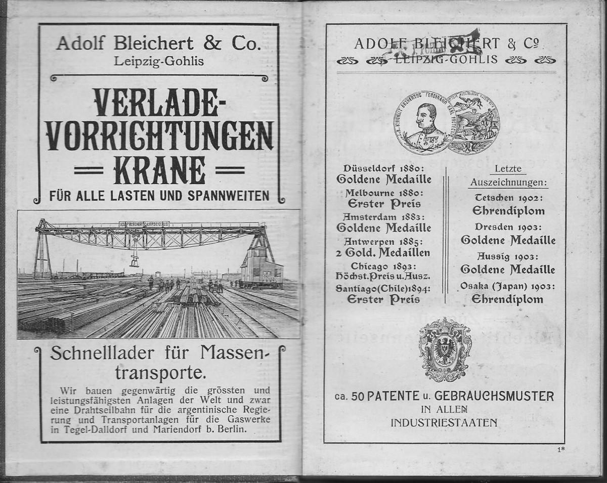 1904 Bleichert Ads 1