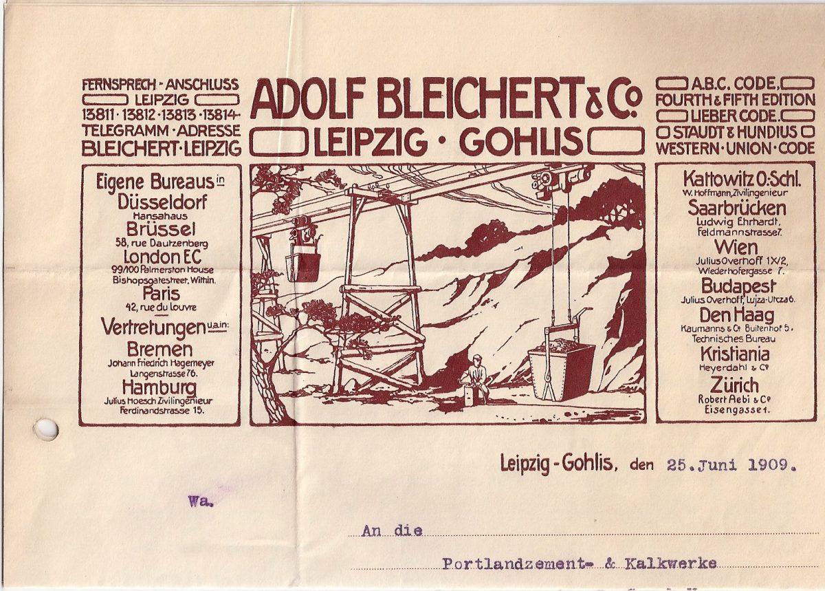 1909 Letterhead - Copia