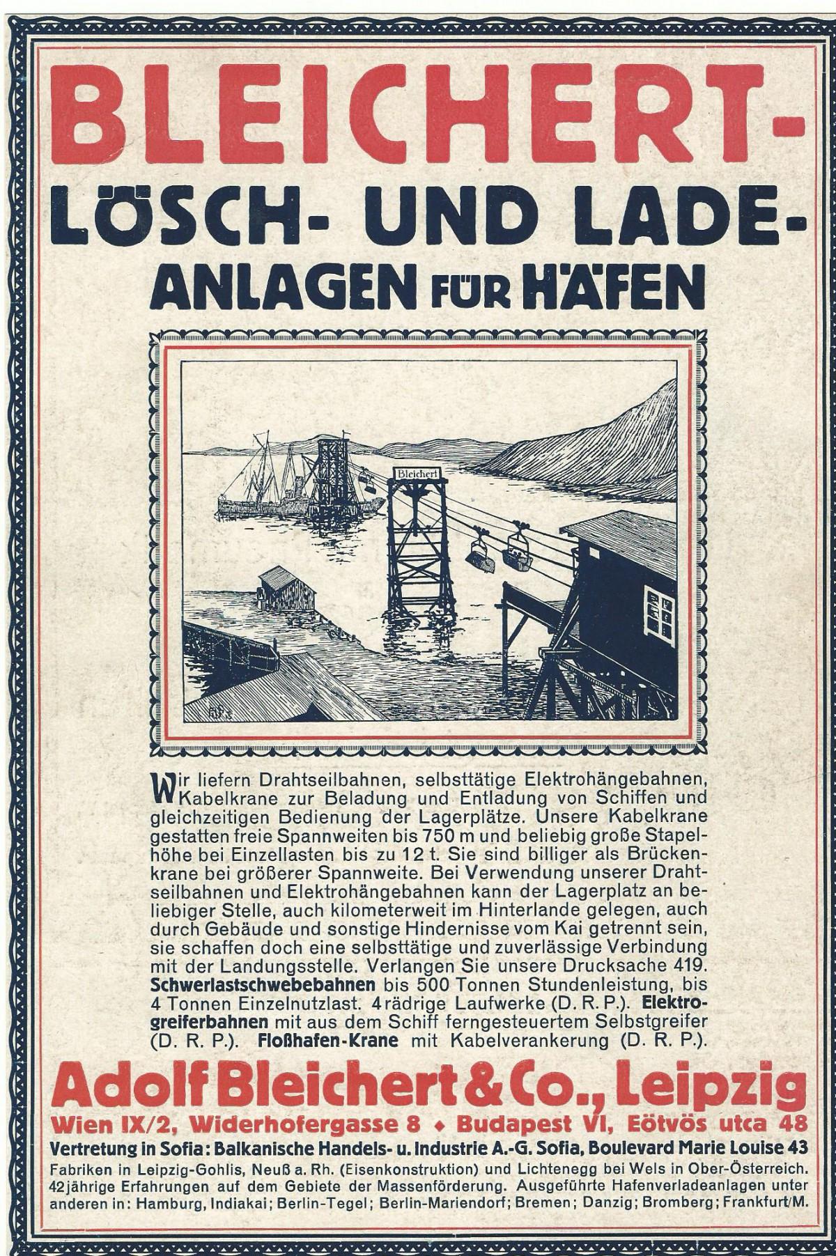 1916 Loesch- u.Ladeanlagen