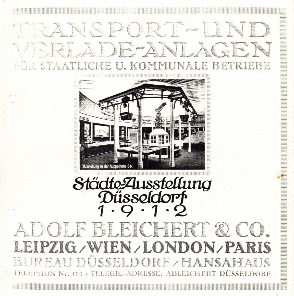 Städteausstellung Düsseldorf 1912