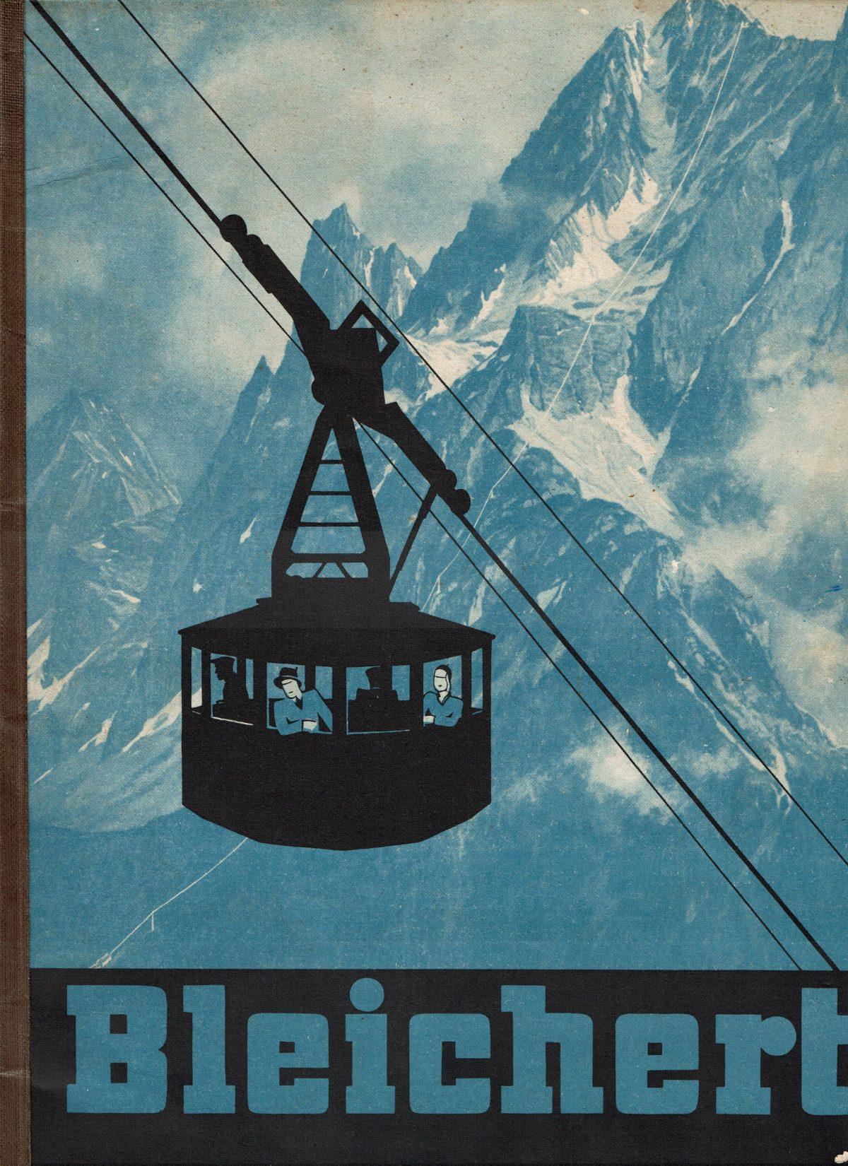 1933 Bleichert Passenger Arial Ropeways