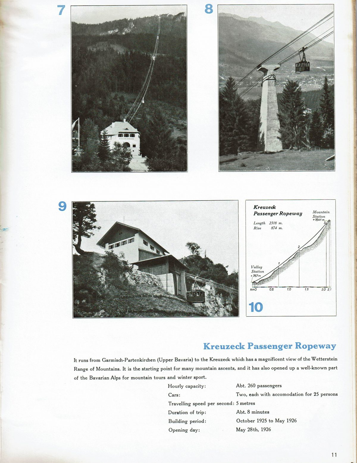 1933 Bleichert Passenger Arial Ropeways 10