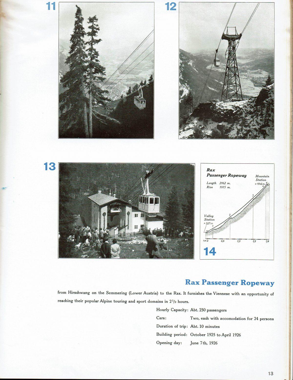 1933 Bleichert Passenger Arial Ropeways 12