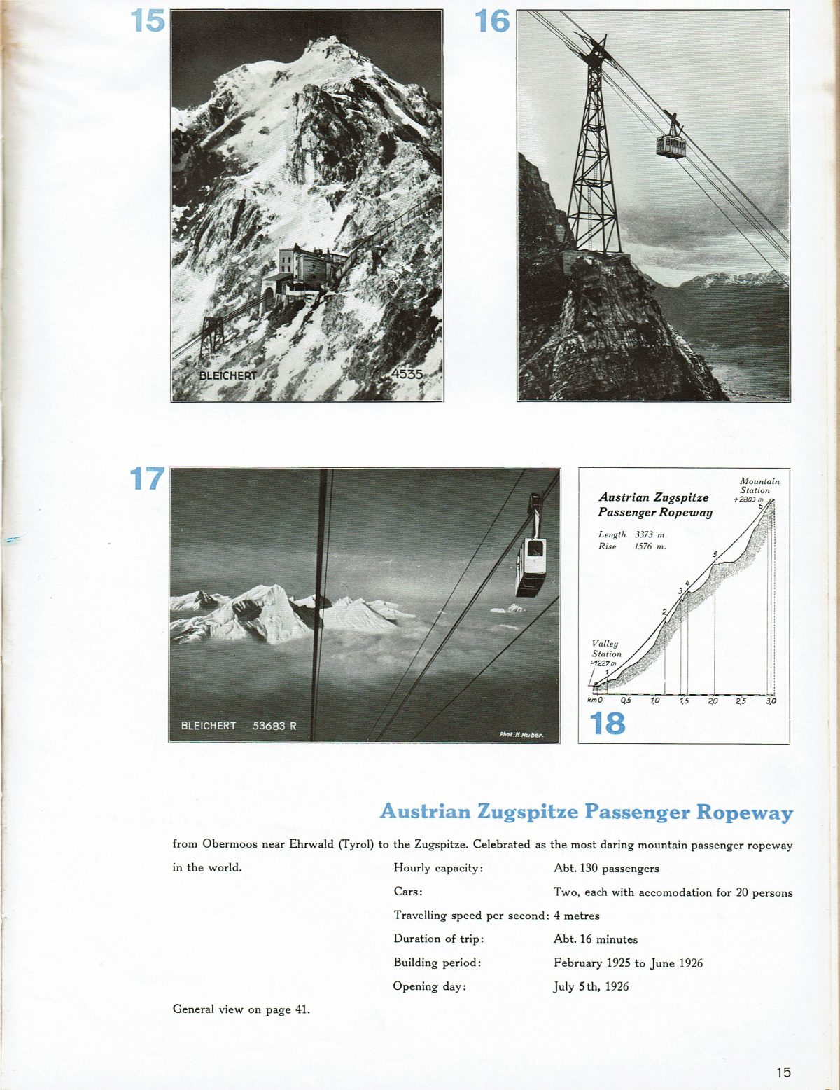 1933 Bleichert Passenger Arial Ropeways 14