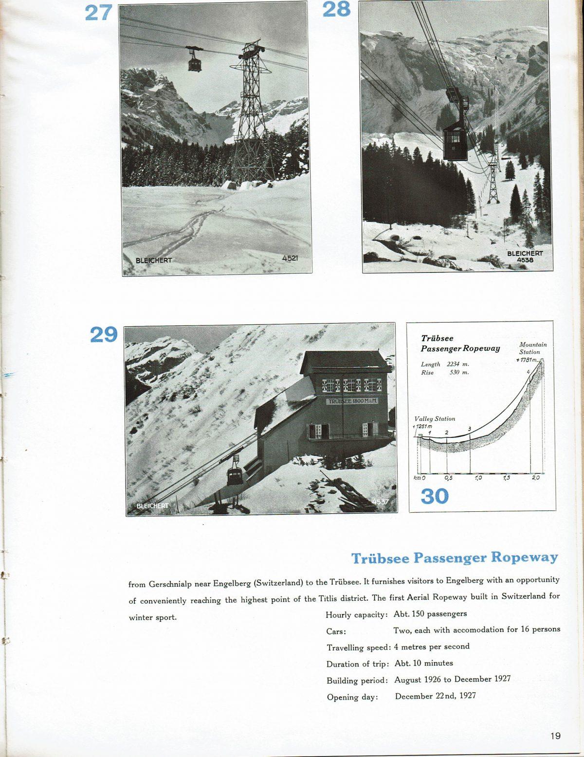 1933 Bleichert Passenger Arial Ropeways 16