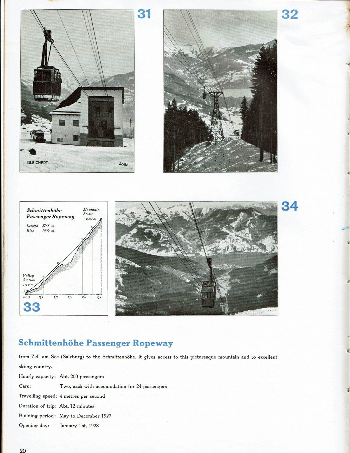 1933 Bleichert Passenger Arial Ropeways 17