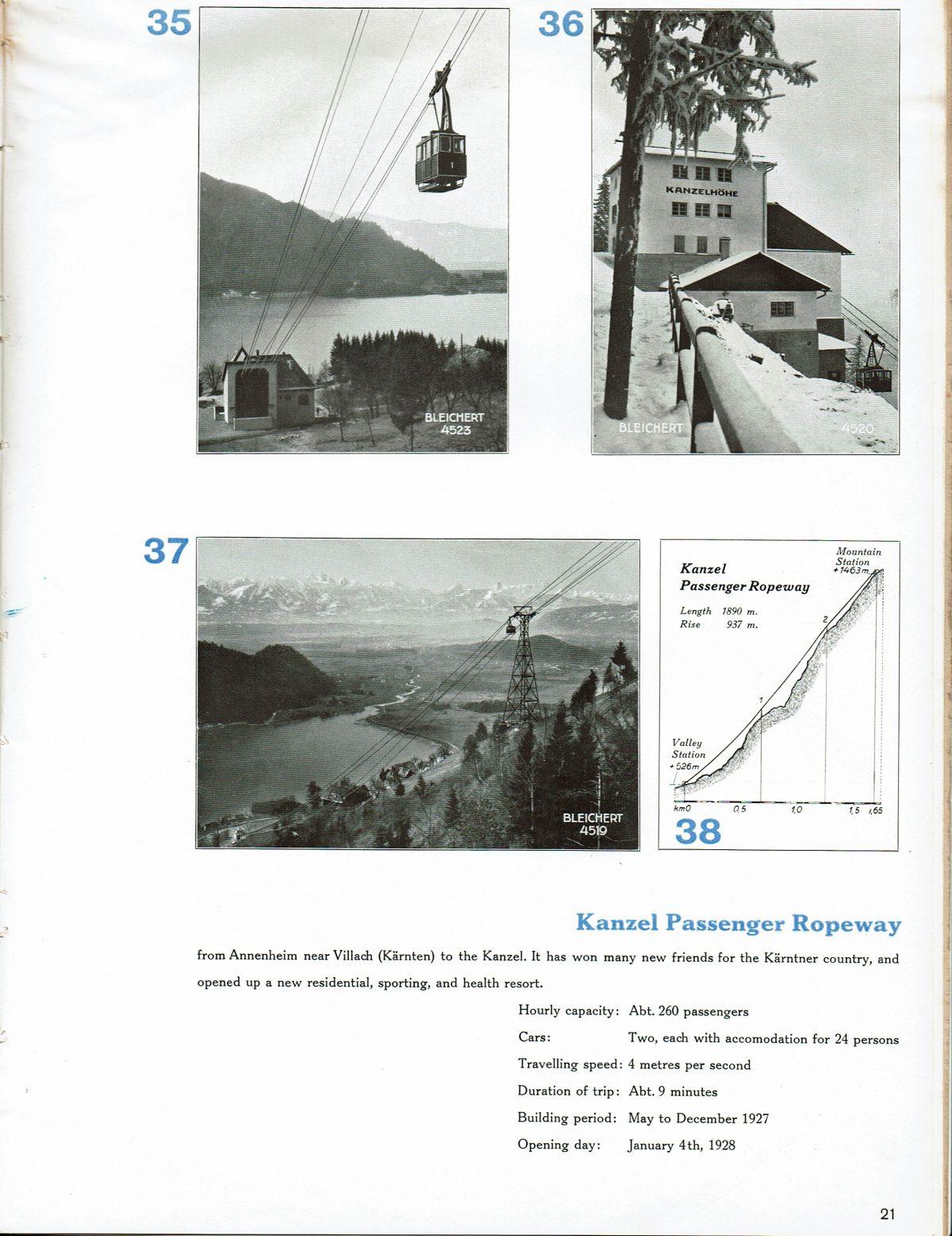 1933 Bleichert Passenger Arial Ropeways 18