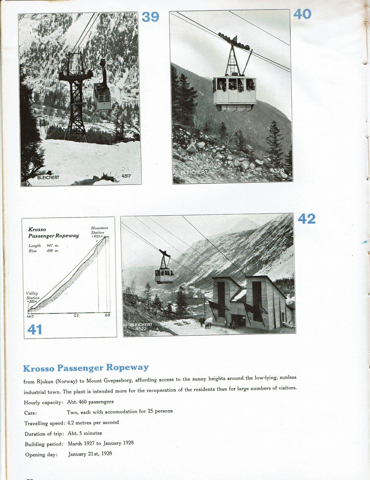 1933 Bleichert Passenger Arial Ropeways 19