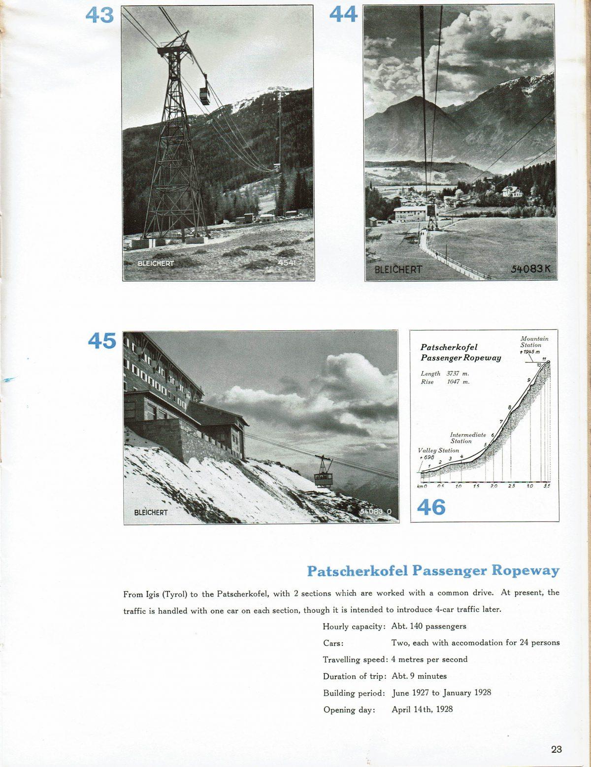 1933 Bleichert Passenger Arial Ropeways 20