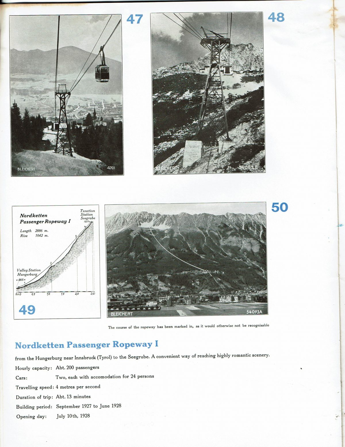 1933 Bleichert Passenger Arial Ropeways 21