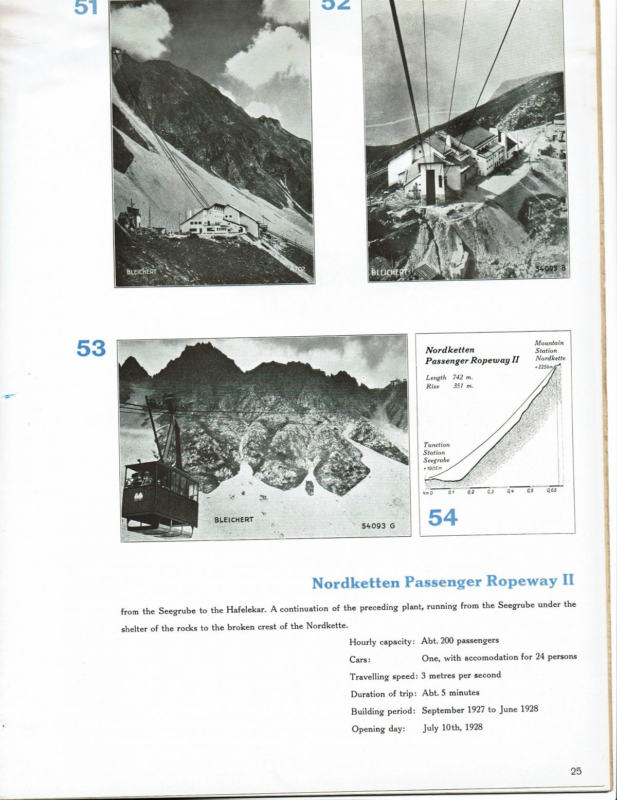 1933 Bleichert Passenger Arial Ropeways 22