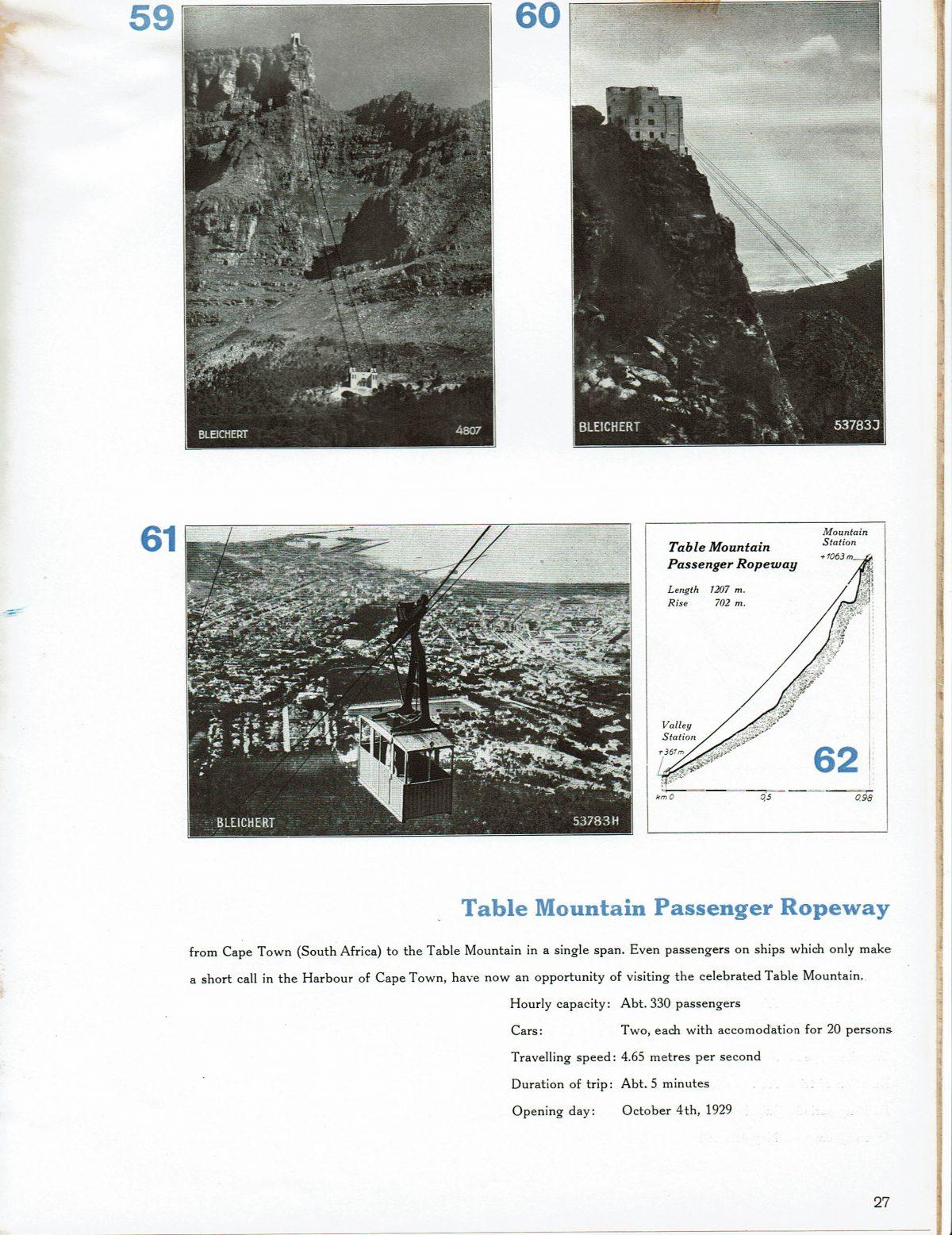 1933 Bleichert Passenger Arial Ropeways 24