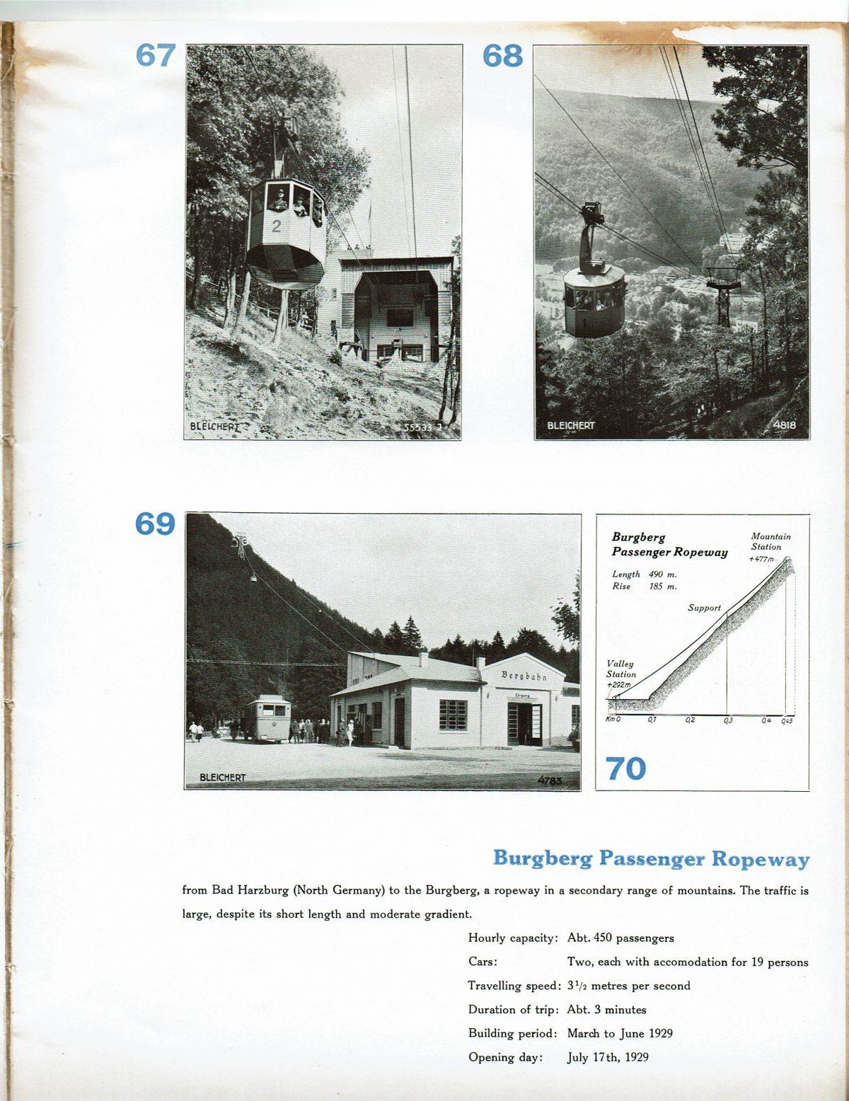 1933 Bleichert Passenger Arial Ropeways 26
