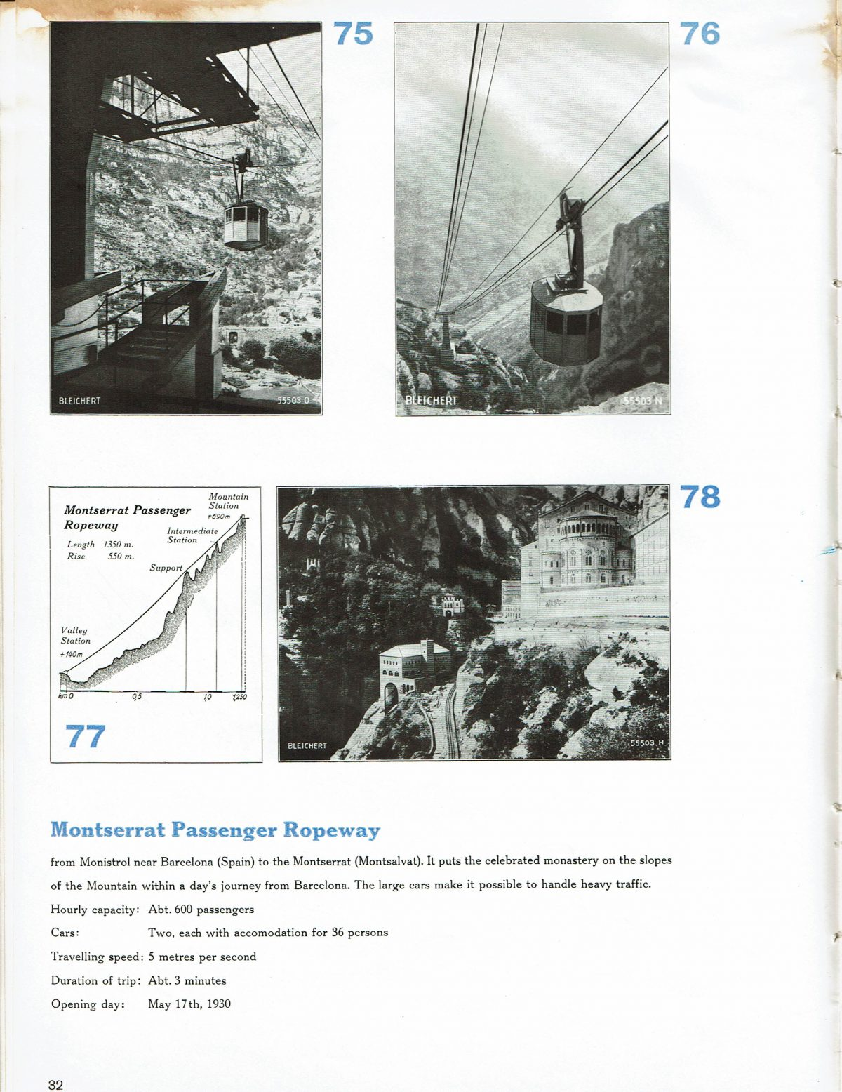 1933 Bleichert Passenger Arial Ropeways 29