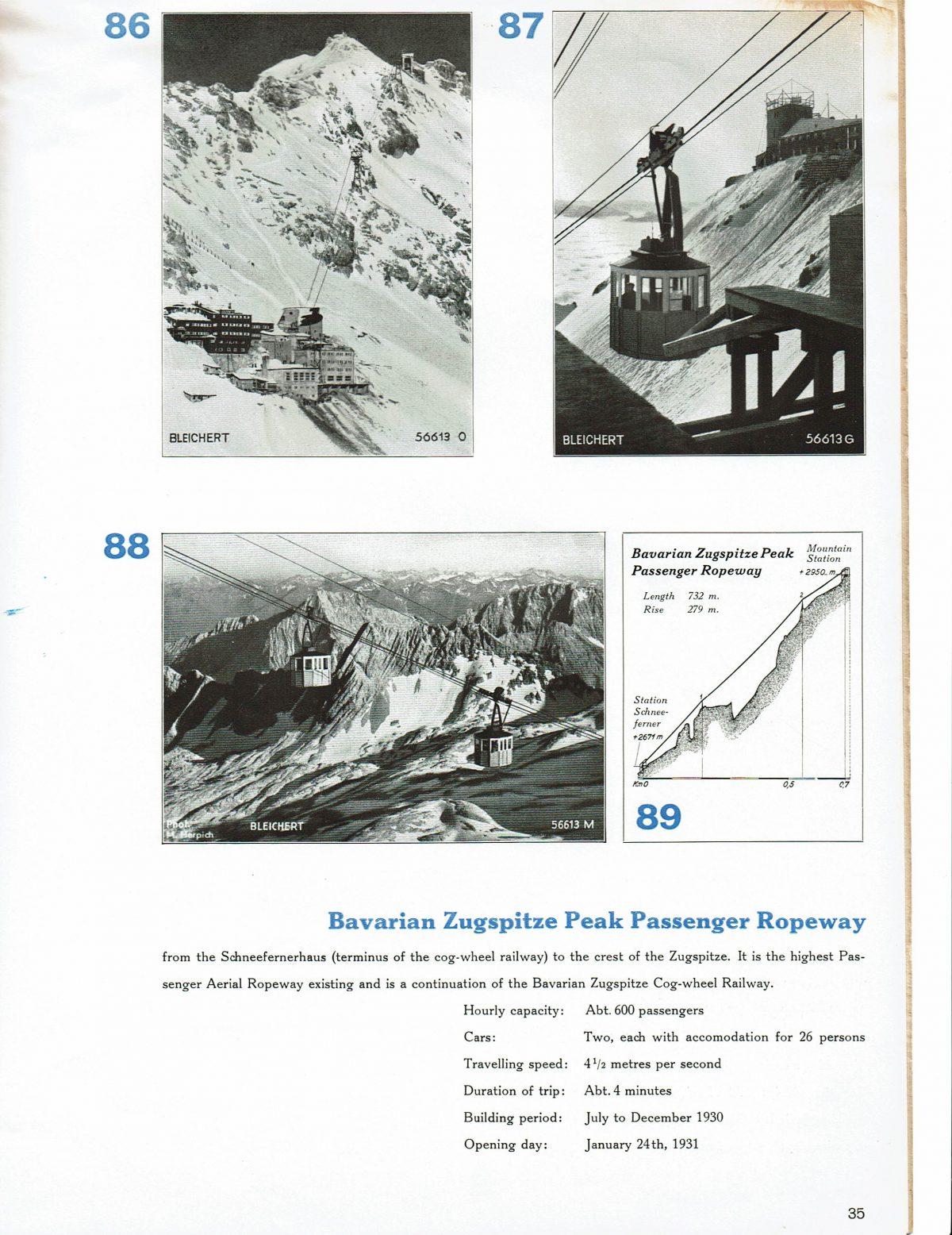 1933 Bleichert Passenger Arial Ropeways 30