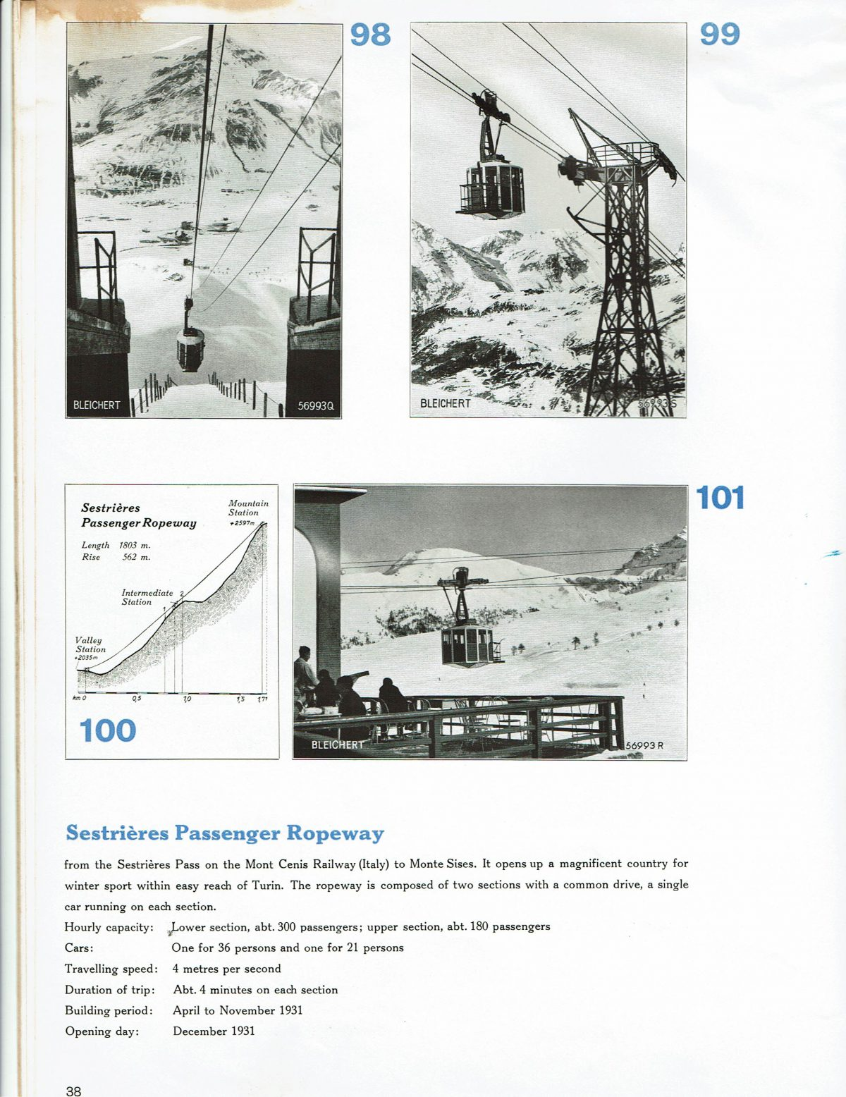1933 Bleichert Passenger Arial Ropeways 33