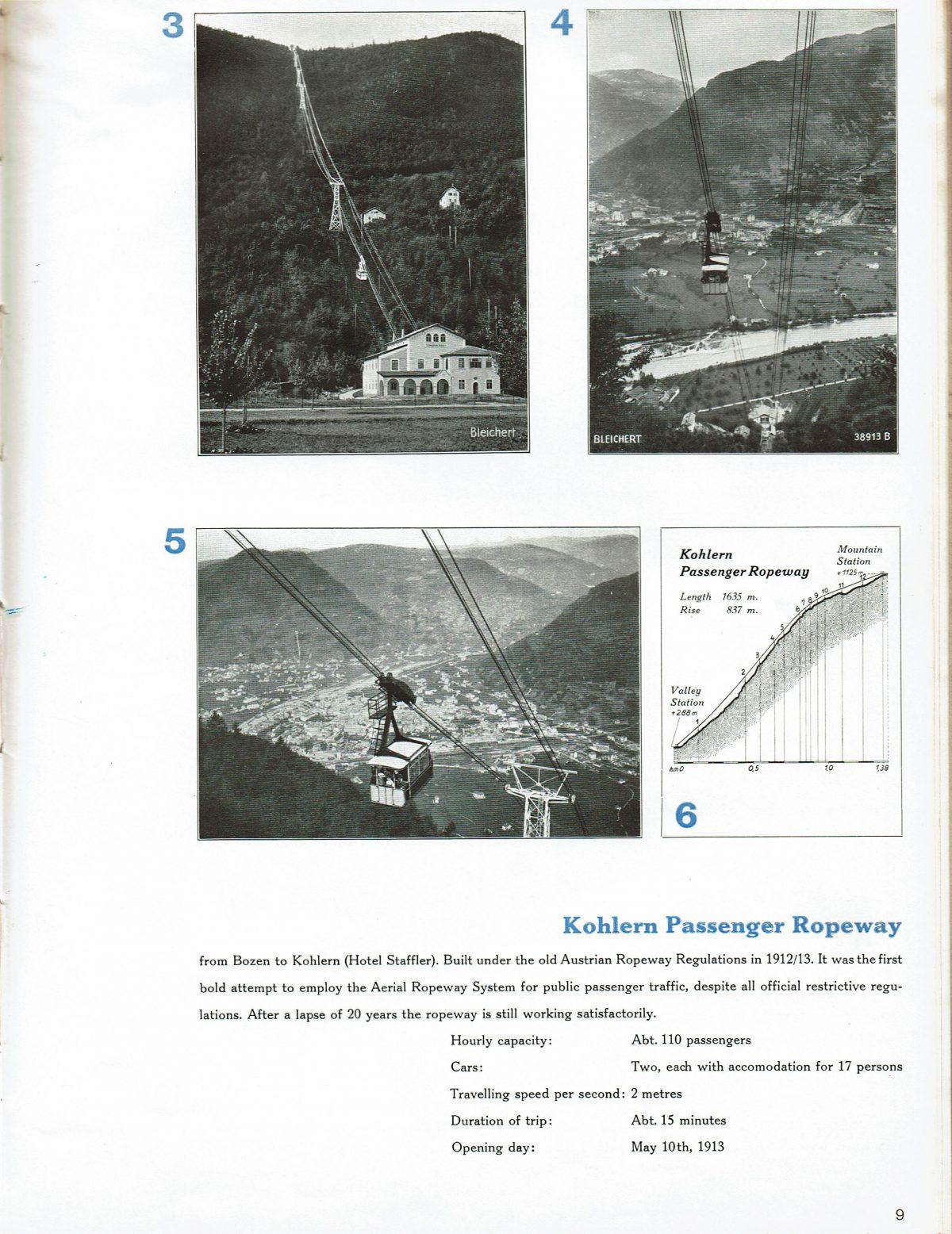 1933 Bleichert Passenger Arial Ropeways 8
